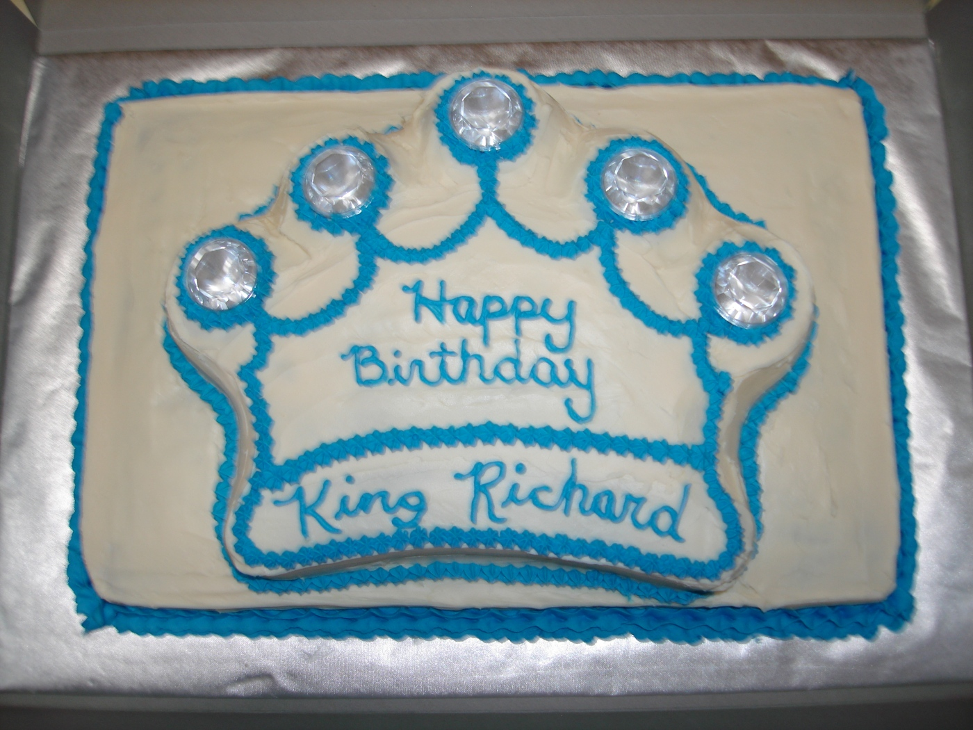 Birthday Cake For Richard King Crucescakecrazes Blog